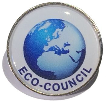 ECO COUNCIL round badge